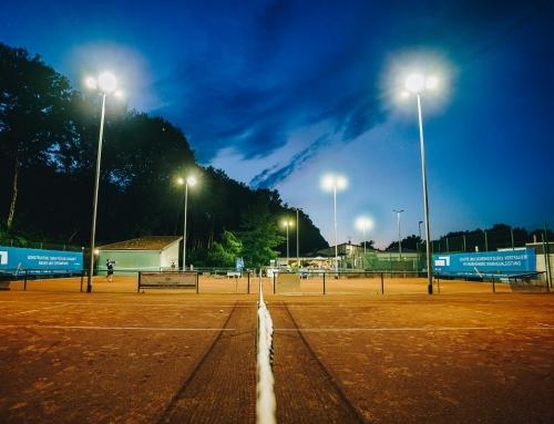 Tennis at midnight